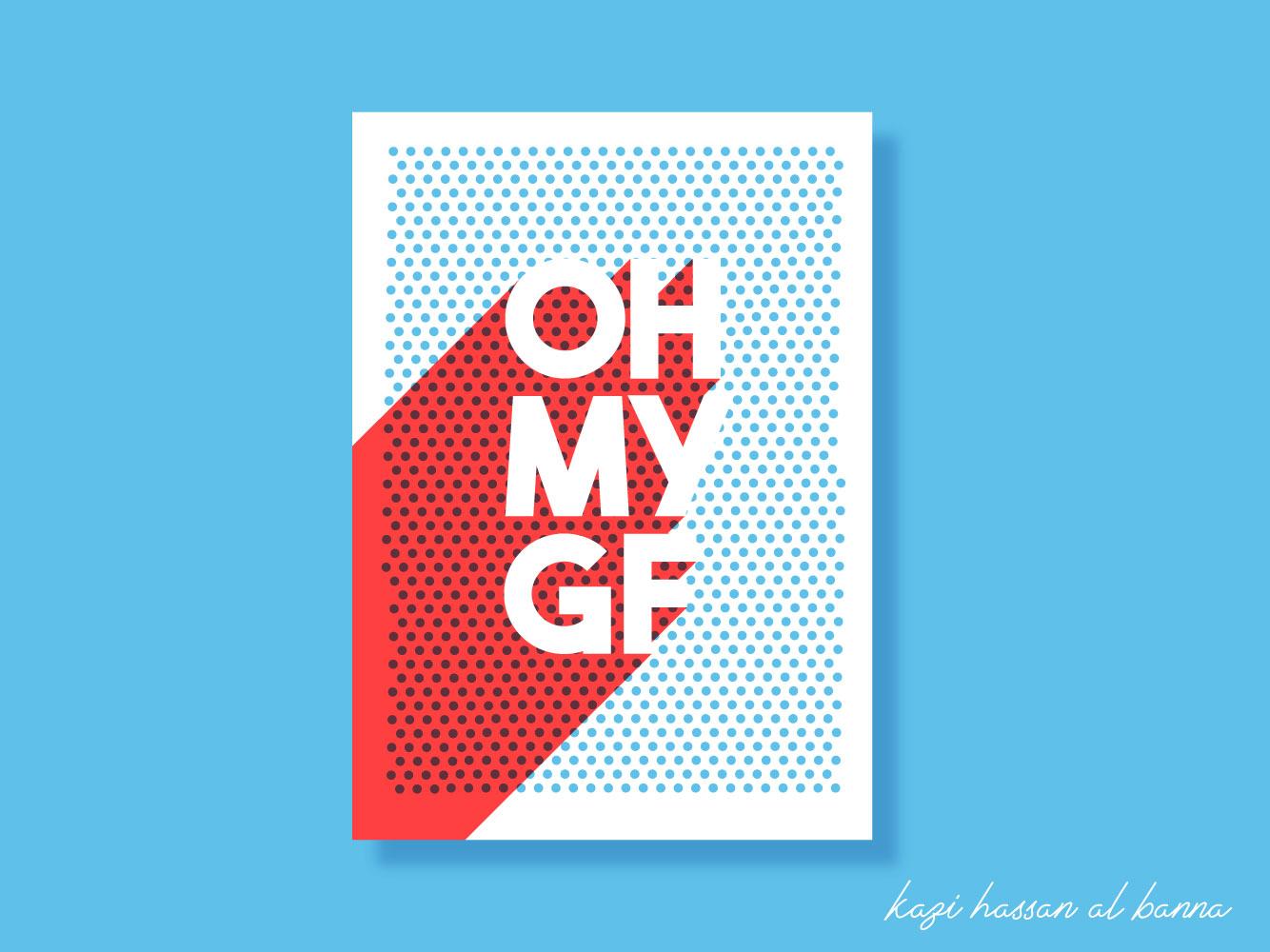 Minimal Poster Design. ux ui app logo flat icon typography vector illustration promotional design poster design minimal lettering clean design identity branding