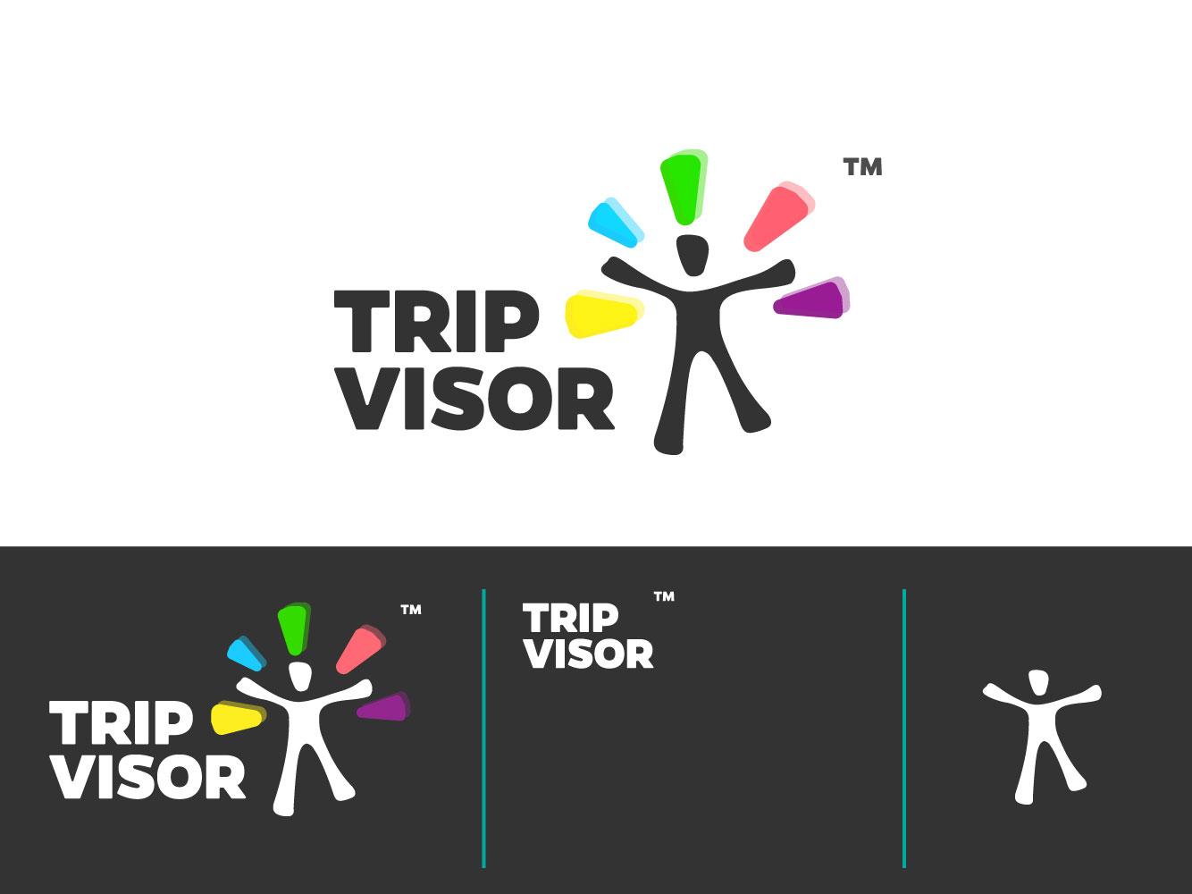 Trip type website animation typography ux ui app illustrator promotional design poster design vector minimal logo icon flat illustration identity design clean branding