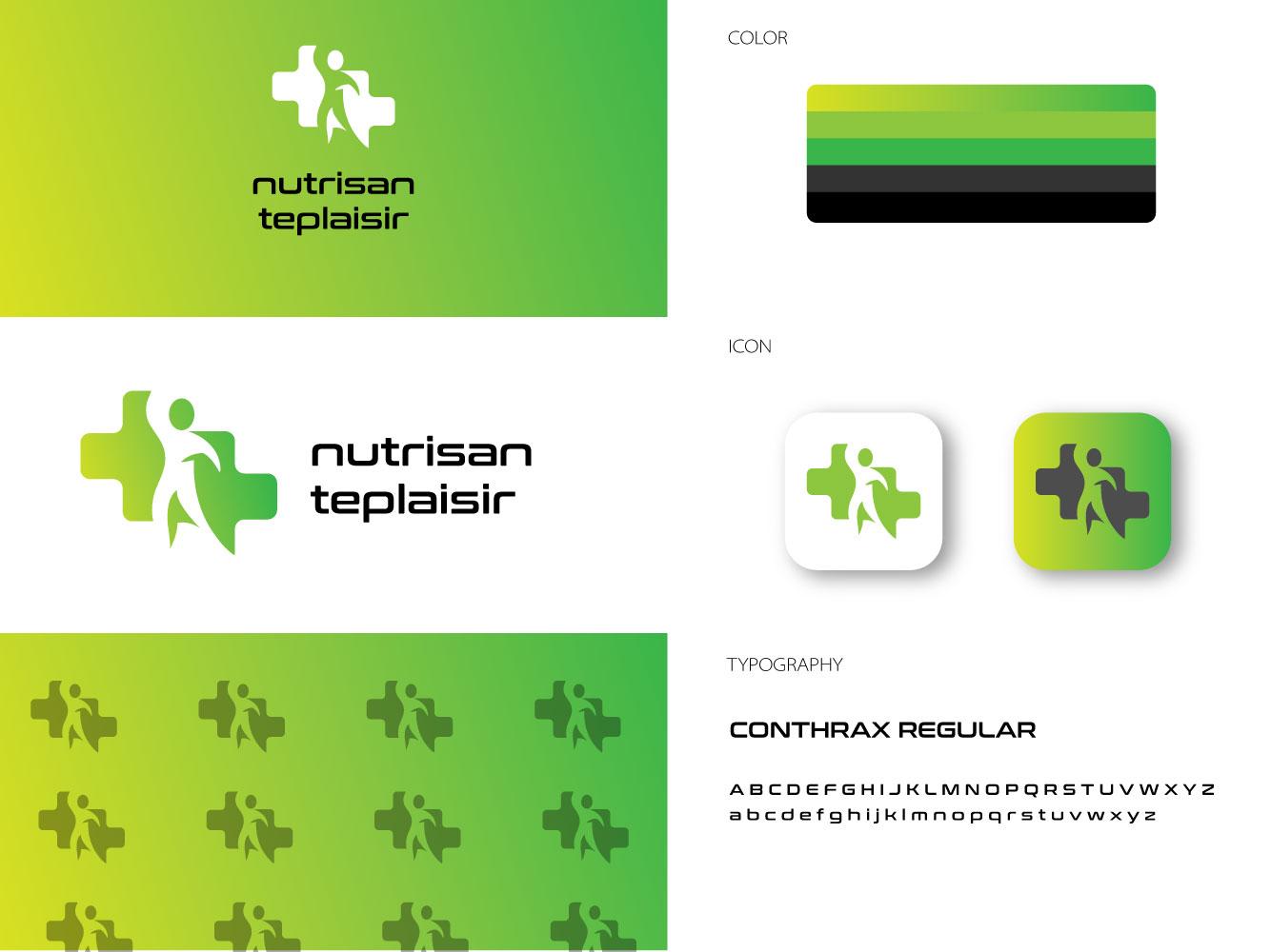 nutrisanteplaisir graphic design brand art illustrator animation app typography lettering vector promotional design poster design minimal logo icon flat illustration identity design clean branding