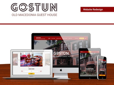 Gostun Guest House - Website Redesign