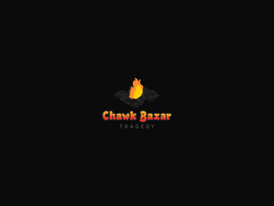 Chawk Bazar Tragedy Logo, Daily Logo challenge #13