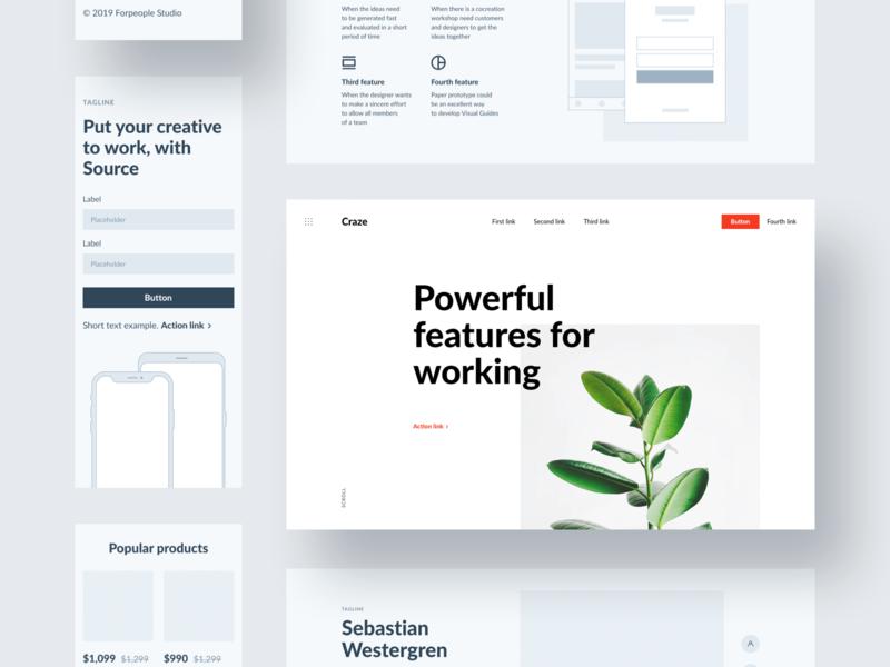 Source Layouts web design webdesign ux web website ui design