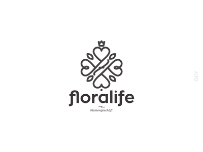 Rejected logo |15| flower shop