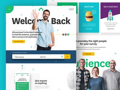 Surveymonkey Radical Return Homepage