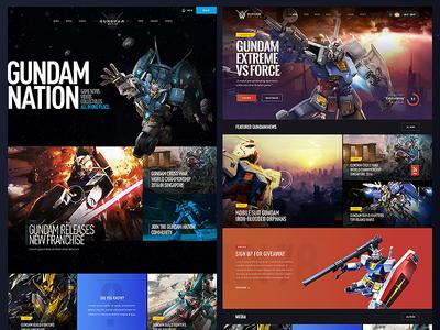 Bandai Namco Gundam Fan Hub