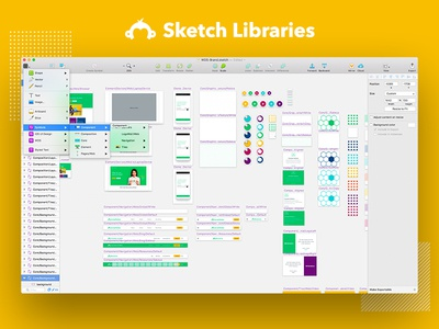 SurveyMonkey Sketch Libraries