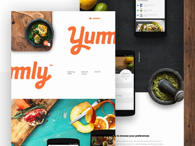 Yummly Case Study browse mobile shopping list food recipes android food app case study yummly
