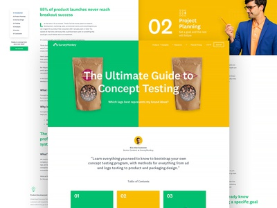 Ultimate Guide To Concept Testing long form article brand colors ab testing ultimate long form guide education concept testing surveymonkey