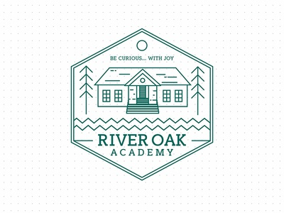 River Oak academy logo design proposal
