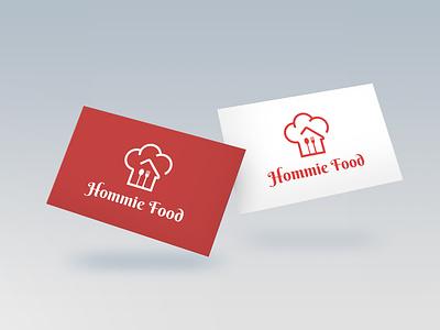 Hommie Food chef logo logos logotype logomockup restaurantlogo kitchenlogo branding logo logodesign