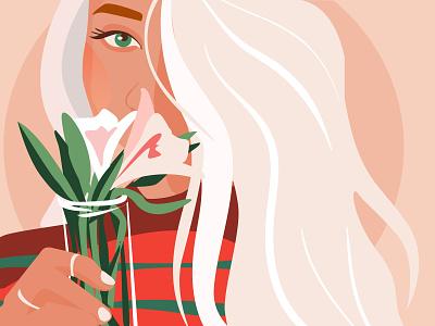 Illustration of my friend Rita adobe illustrator illustrations portrait girl vector design illustrator digitalart art illustraion