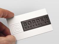 Border Apparel Business Card
