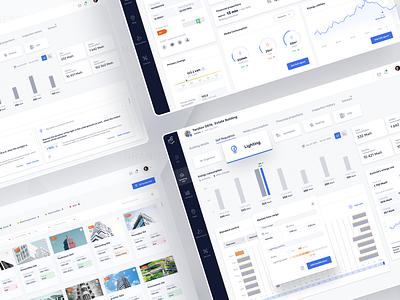 Digital Building Passport management app consumption energy interface uidesign app figma product design design ui ux