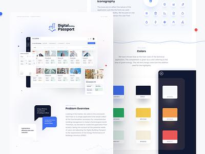 Digital Building Passport consumption management app energy uxdesign app figma product design design ux ui