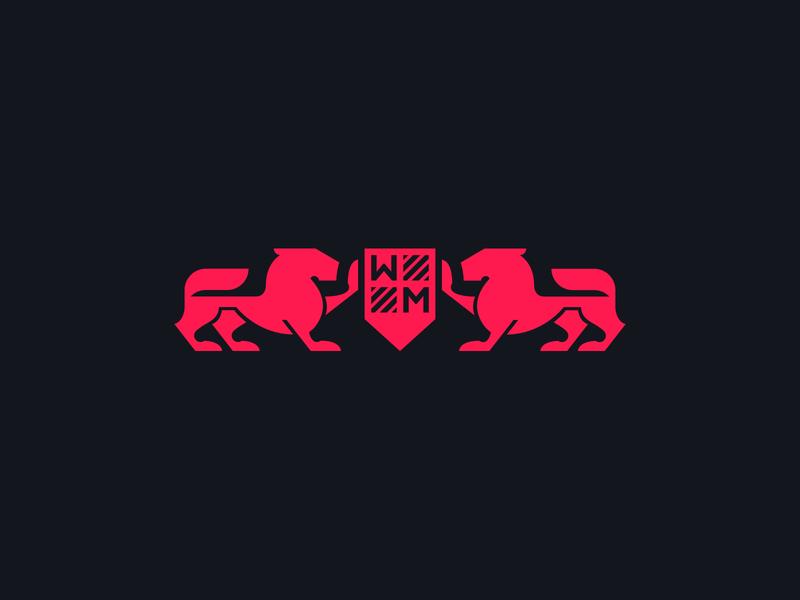 Watch Merchant - Branding - Logo merchant watch lion symbol sign icon mark design identity branding logo