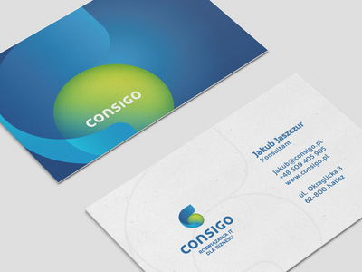 Consigo - Business Card