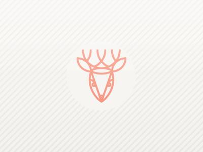 Forest Life - Deer Wallpaper deer wallpaper minimal simple download goodie illustration iphone icon