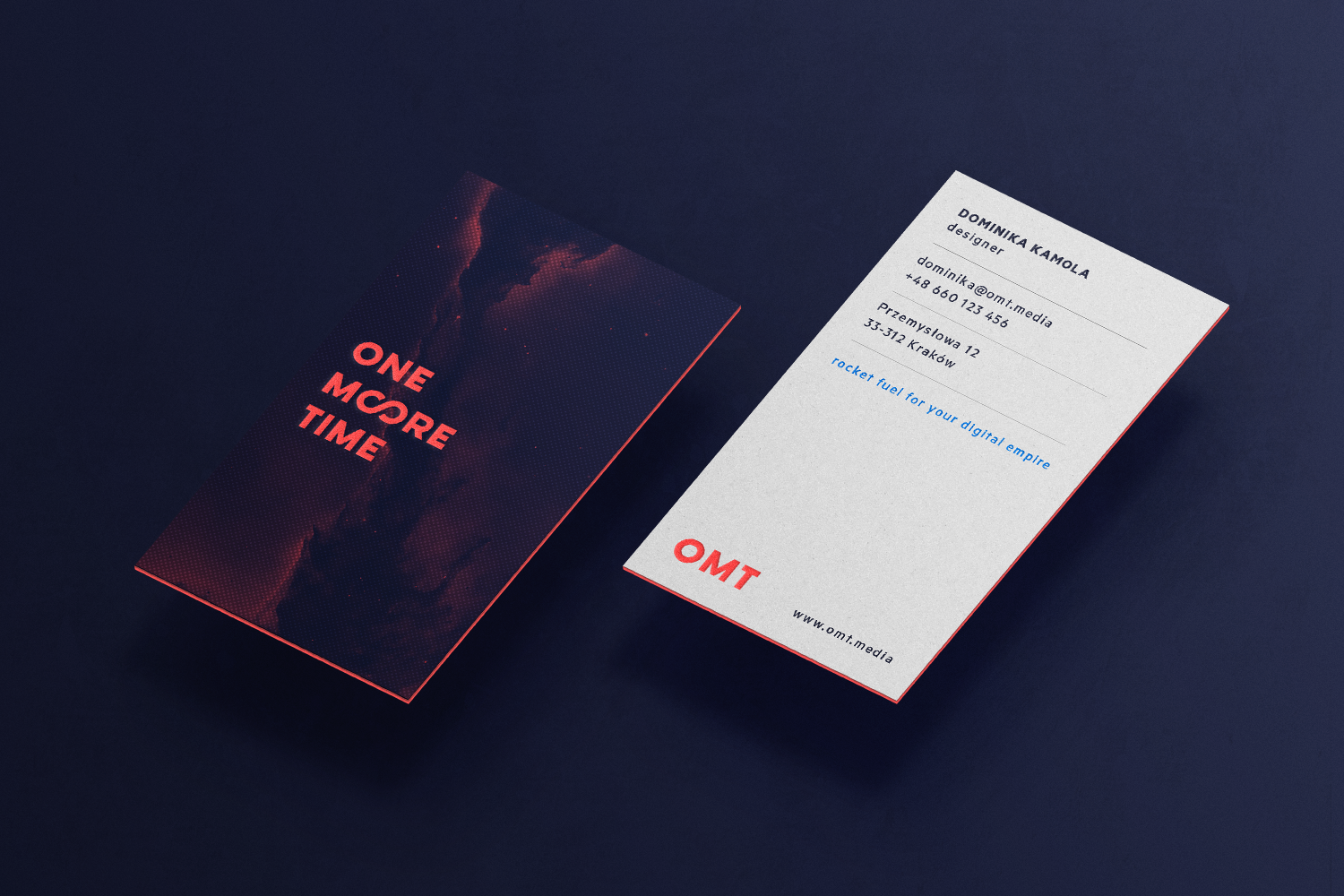 One more time   business cards big