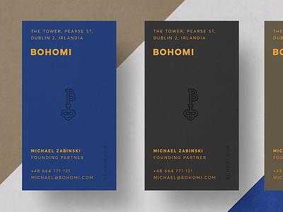 Bohomi - Business Cards success b key branding brand logo business cards bohomi