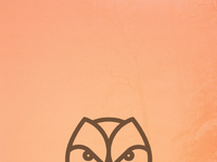 Forestlife owl wallpaper
