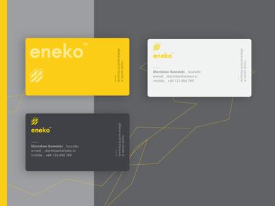 Eneko — Business Cards