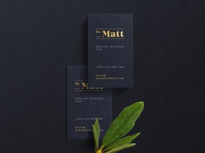 Dr Matt - Brand Design