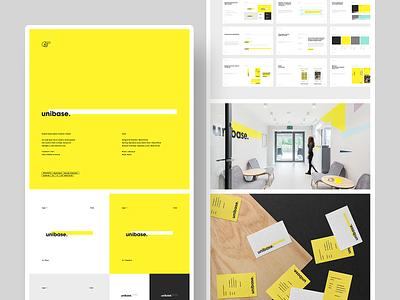 Unibase - Branding / Product Design - Case Study ux ui icon illustration design identity brand typography branding logo