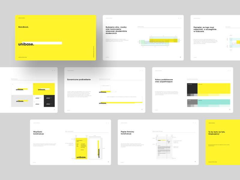 Unibase - Branding - Brandbook guidelines dormitory identity branding logo brand manual brandbook