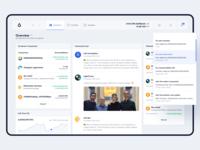 Lisk — Wallet / Dashboard Overview