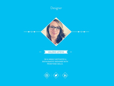"""WIP """"Meet Our Team"""" page flat design team agency barnyard icons social light blue one page site"""