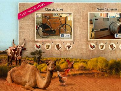 Save an animal nonprofit animals auction web platform animal colors pink webdesign chicken