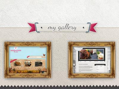 gallery for my portfolio portfolio gallery design texture frame work grey website gold