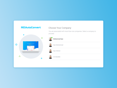 Relautoconvert/Choose Your Company