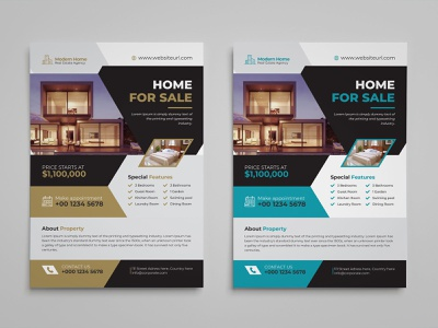 Real Estate Flyer realtor real estate real estate flyer property professional poster open newspaper marketing magazine lease leaflet house home flyer commercial agent agency advertising advertisement
