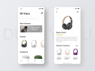 Design of Display Interface for Beats Headphones-2
