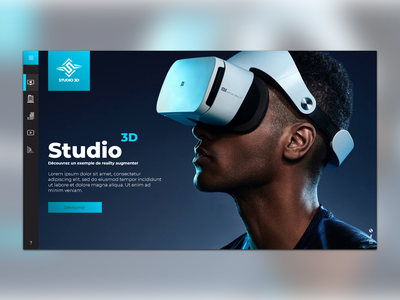 Reality Augmented virtualreality studio 3d branding design ux website ui