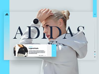 adidas originals concept design adidas adobexd website web ui ux fashion