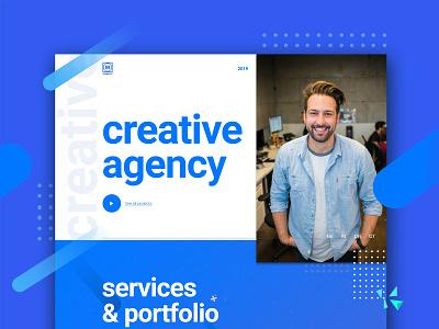 Agency landing page apptest webdevelopment uiux motiongraphics branding webdesign website adobexd