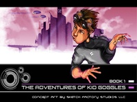 The Adventures of Kid Goggles Concept