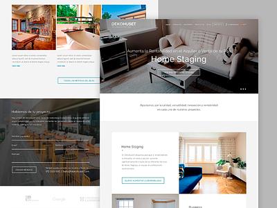 Dekohuset minimalist decoration interior design home staging