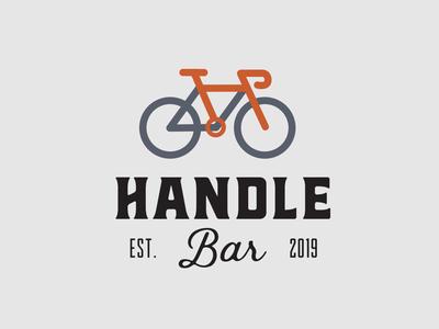 Handle Bar Logo Concept