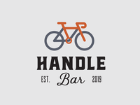 Handle Bar Logo Concept