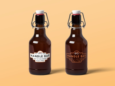 Handle Bar - Concept Branding - Beer Bottle