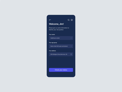 VacciNation App booking app loader animation ui user interface design design figmadesign mobile app booking medicine medical vaccination vaccine covid19 covid