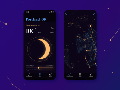 SkyTreasure app