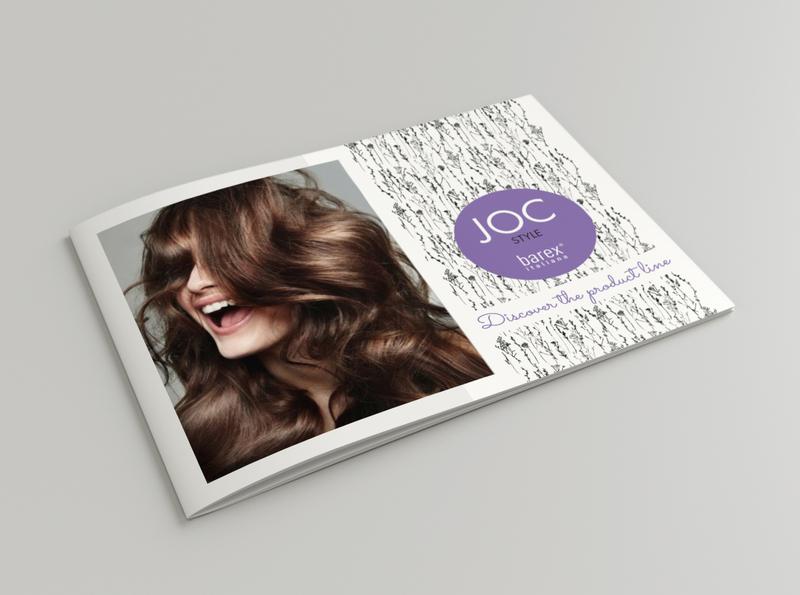 Professional Hairstyle folder - layout design