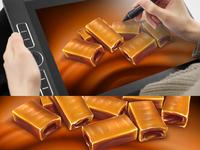 digital painting on 3D rendering