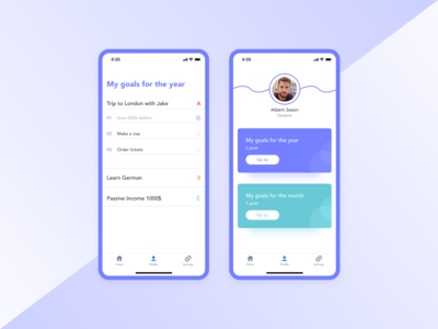 User Profile / Daily UI