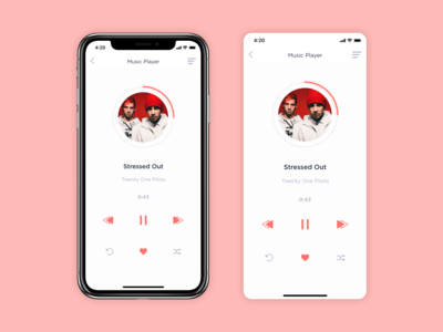 Music Player / Daily UI