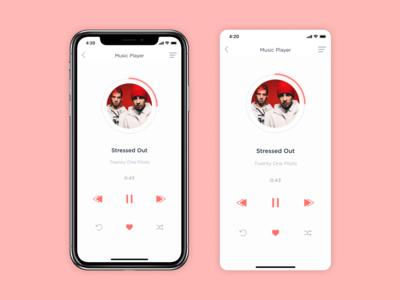 Music Player / Daily UI